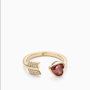 NWT Kate Spade Romantic Rocks Ring